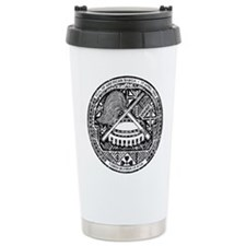American Samoa Coat Of Arms Travel Mug