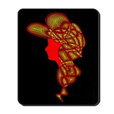 Lady Fire Mousepad