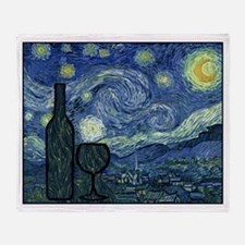 WineyNight.png Throw Blanket