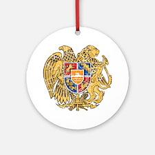 Armenia Coat Of Arms Ornament (Round)