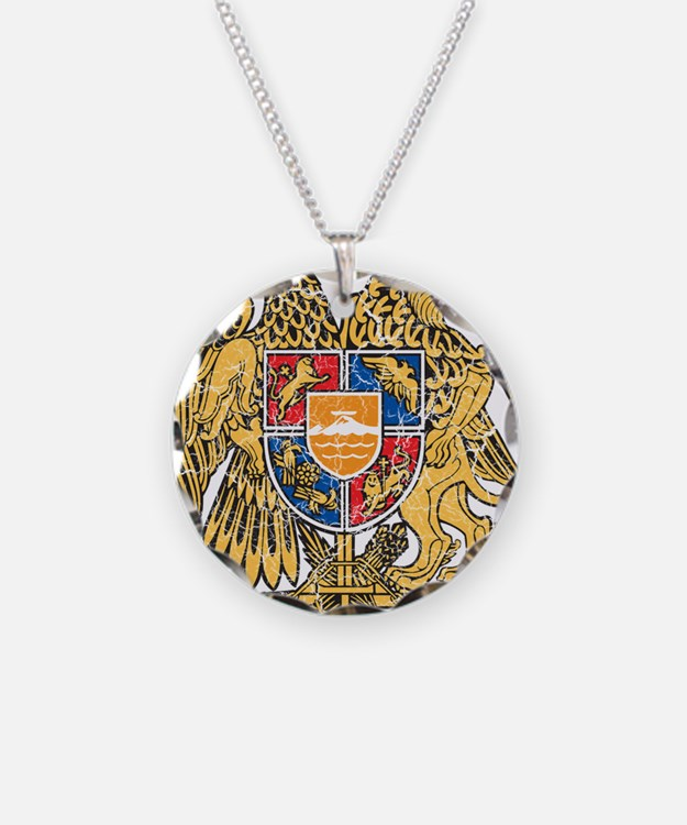 Armenia Coat Of Arms Necklace