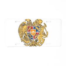 Armenia Coat Of Arms Aluminum License Plate