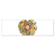 Armenia Coat Of Arms Bumper Sticker