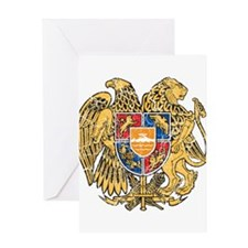 Armenia Coat Of Arms Greeting Card