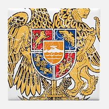 Armenia Coat Of Arms Tile Coaster