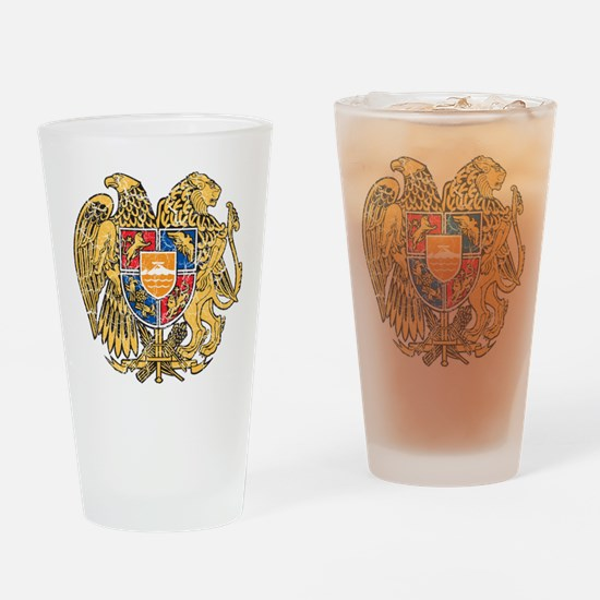 Armenia Coat Of Arms Drinking Glass