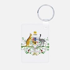Australia Coat Of Arms Keychains