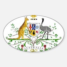 Australia Coat Of Arms Decal