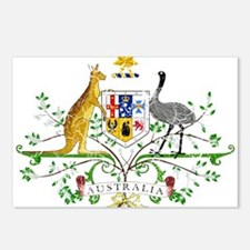 Australia Coat Of Arms Postcards (Package of 8)