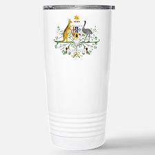 Australia Coat Of Arms Travel Mug