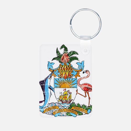Bahamas Coat Of Arms Keychains