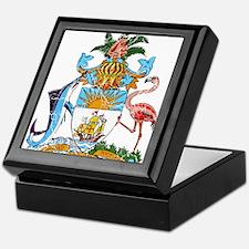 Bahamas Coat Of Arms Keepsake Box