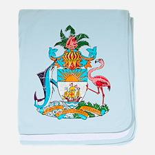Bahamas Coat Of Arms baby blanket