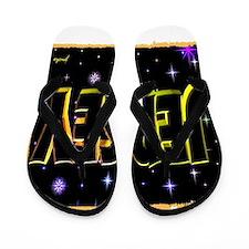 jersey holiday wear illustration art Flip Flops