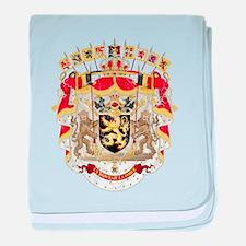 Belgium Coat Of Arms baby blanket