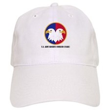 U.S. Army Reserve Command with Text Baseball Cap