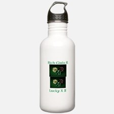 Rich and Lucky Water Bottle