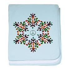 Snow Peace - Power baby blanket