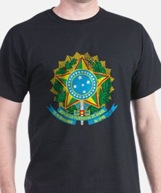 Brazil Coat Of Arms T-Shirt
