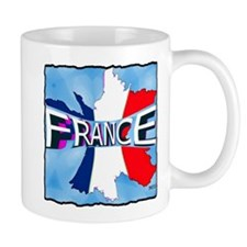 france holiday illustration art Mug