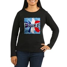 france holiday illustration art T-Shirt