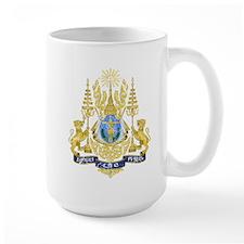 Cambodia Coat Of Arms Mug