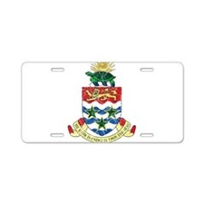 Cayman Islands Coat Of Arms Aluminum License Plate