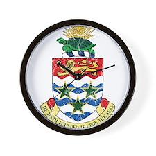 Cayman Islands Coat Of Arms Wall Clock