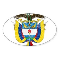 Colombia Coat Of Arms Decal