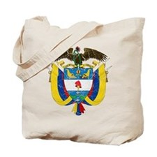 Colombia Coat Of Arms Tote Bag