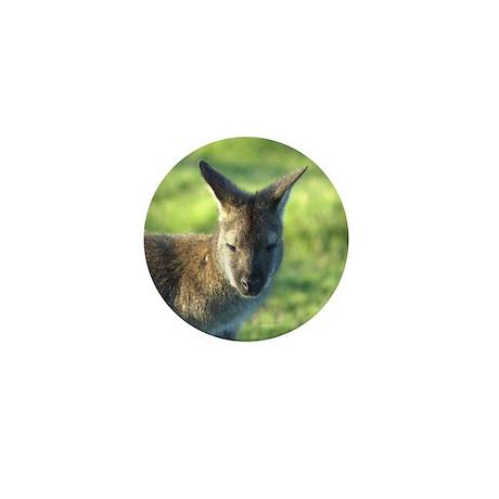 Wallaby Mini Button