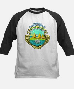 Costa Rica Coat Of Arms Tee