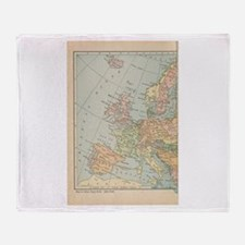 Europe - Throw Blanket
