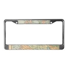 Europe - License Plate Frame