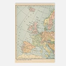 Europe - Postcards (Package of 8)