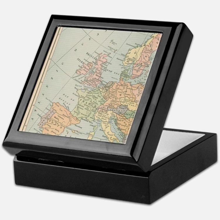 Europe - Keepsake Box