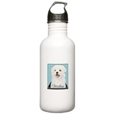 Cute Maltese Water Bottle