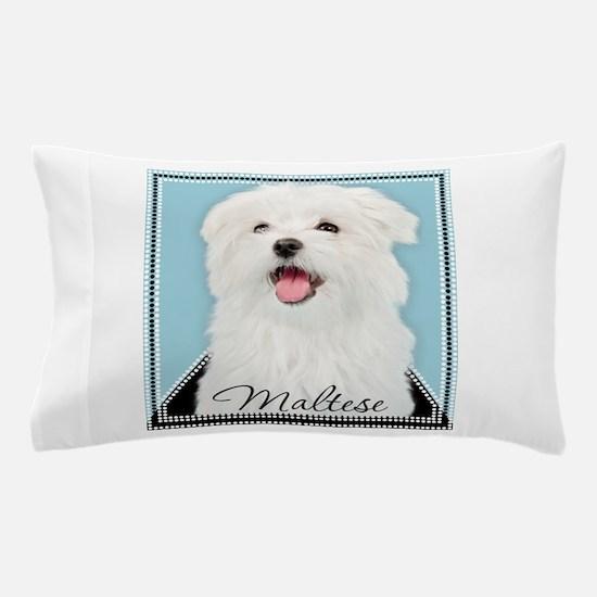 Cute Maltese Pillow Case