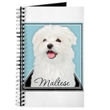 Cute Maltese Journal