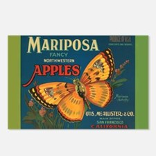 Mariposa - Postcards (Package of 8)