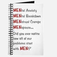 Men Problems - Journal