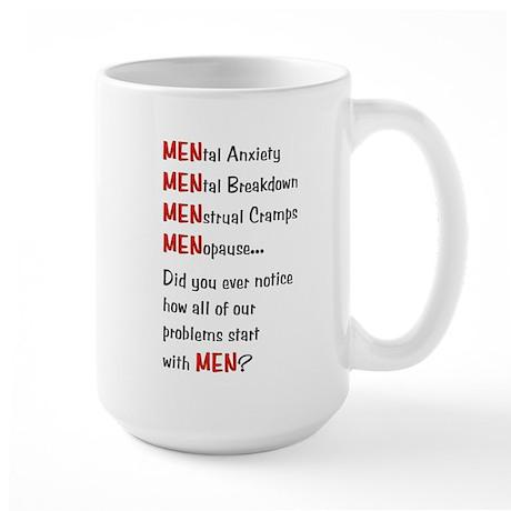 Men Problems - Large Mug
