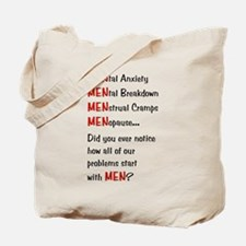 Men Problems - Tote Bag