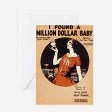 Million $ Baby Greeting Card