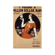 Million $ Baby Rectangle Magnet