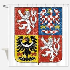 Czech Republic Coat Of Arms Shower Curtain