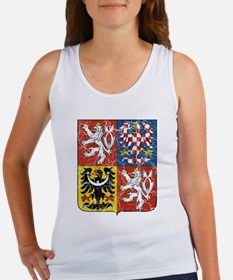 Czech Republic Coat Of Arms Women's Tank Top