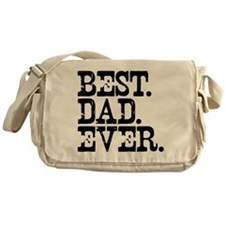 Best Dad Ever Messenger Bag