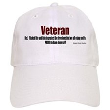 Veteran Definition Baseball Cap
