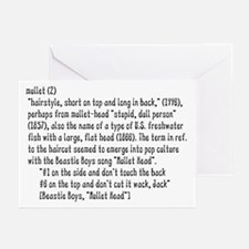 Mullet - Greeting Cards (Pk of 10)